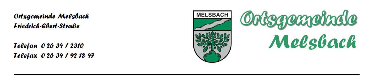 brief melsbach