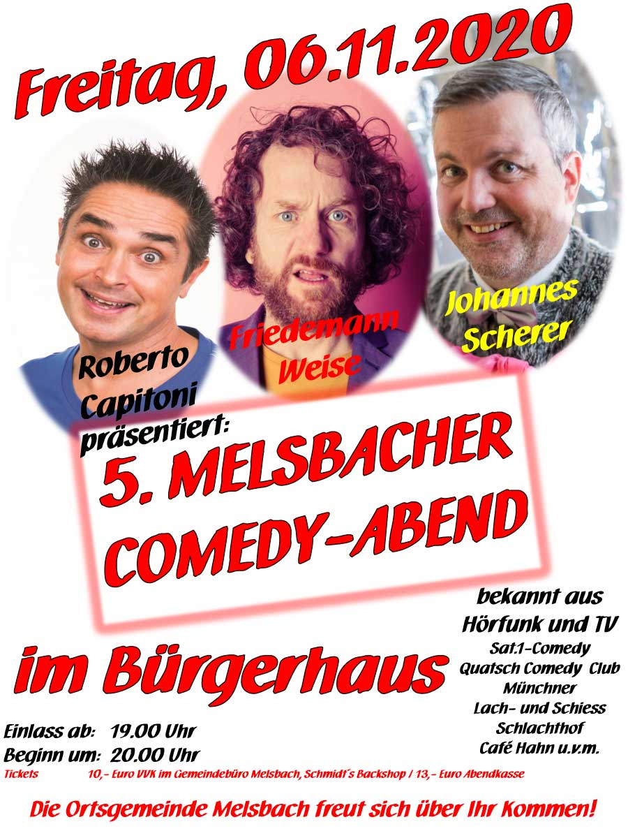 Comedy Abend 2020 11 06